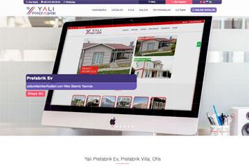 Yalı Prefabrik Web Sitesi Tasarımı