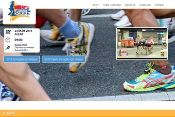 Cumhuriyet Koşusu Web Sitesi Tasarımı