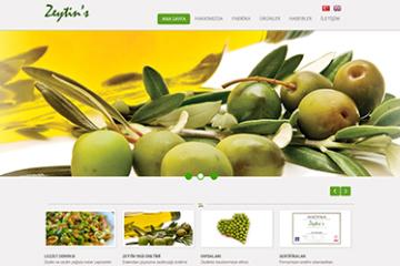 Zeytin's Web Sitesi Tasarımı