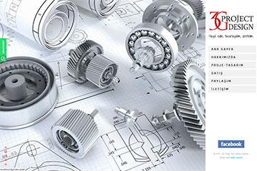 3G Proje Web Sitesi Tasarımı
