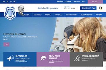 Demirören Ata Koleji Web Sitesi Tasarımı