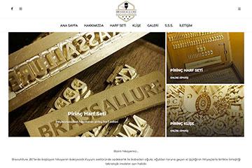 Brass Allure Web Sitesi Tasarımı