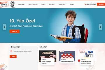 Kuzey Okulları Web Tasarım