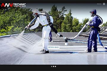 ANV Yalıtım Web Sitesi Tasarımı