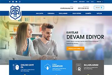 Ata Koleji Web Tasarım