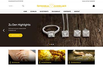 İstanbul Juwelier Web Tasarım