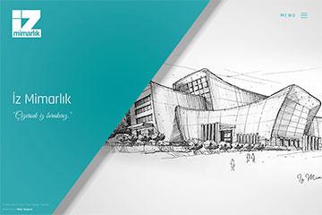 İz Mimarlık web sitesi yapım çalışmaları devam ediyor