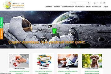 Three Season Web Sitesi Tasarımı