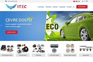 Itec Gas Web Sitesi Tasarımı