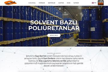 Parkelak Web Sitesi Tasarımı