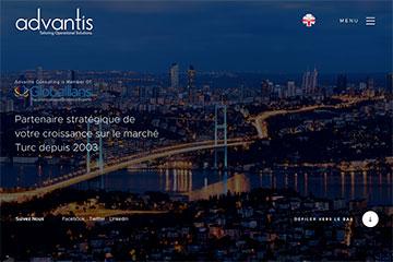 Advantis Web Sitesi Tasarımı