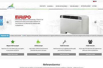 AFB Klima Web Sitesi Tasarımı