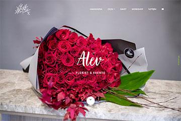Alev Florist Web Sitesi Tasarımı