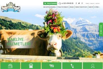 Alpler Hayvancılık Web Sitesi Tasarımı