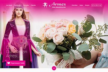 Armes Organizasyon Web Sitesi Tasarımı