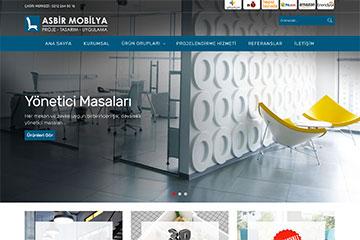 Asbir Mobilya Web Sitesi Tasarımı