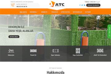 ATC Panel Çit web tasarım çalışmaları devam ediyor.