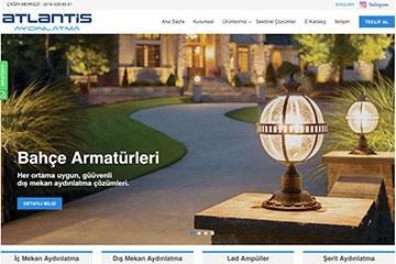 Atlantis Web Sitesi Tasarımı