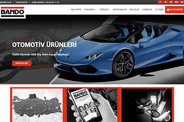 Bando Web Sitesi Tasarımı