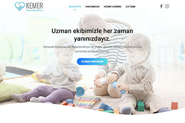 Kemer IK Web Sitesi Tasarımı