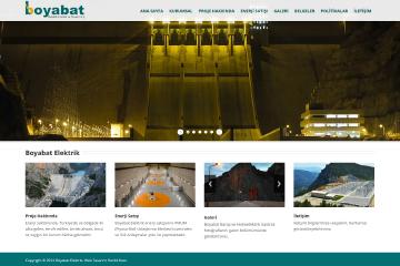 Boyabat Elektrik Web Sitesi Tasarımı