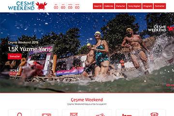 Çesme Weekend Web Sitesi Tasarımı