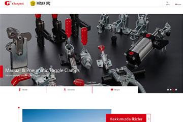 Clamptek İkizler Güç Web Sitesi Tasarımı