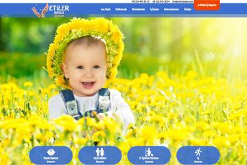Etiler Bakıcı Web Sitesi Tasarımı
