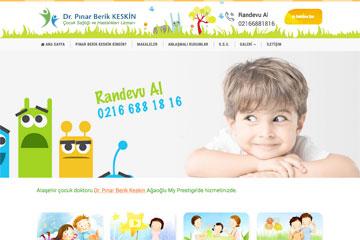 Çocuk Doktoru Web Sitesi Tasarımı