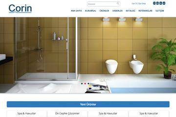 Corin Web Sitesi Tasarımı