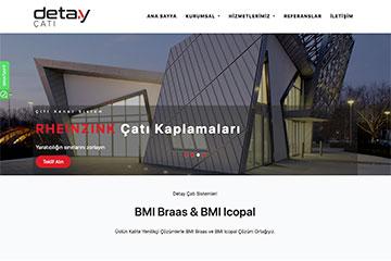 Detay Çatı Web Sitesi Tasarımı