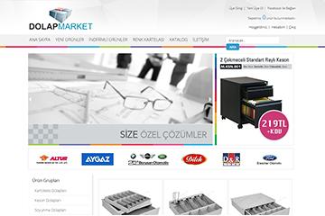 Dolap Market Web Sitesi Tasarımı