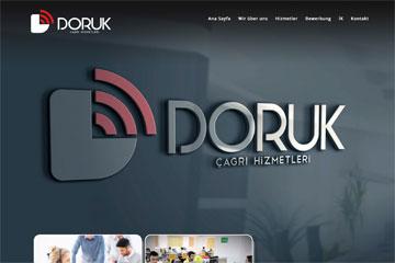 Doruk Call Center Web Sitesi Tasarımı