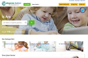 Ekspres Bakıcı Web Sitesi Tasarımı