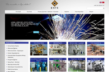 Emke İnşaat Web Sitesi Tasarımı