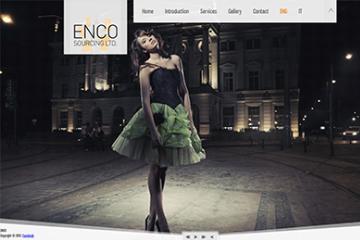 Enco Konfeksiyon Web Sitesi Tasarımı
