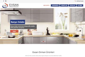 Evsan Orman Web Sitesi Tasarımı