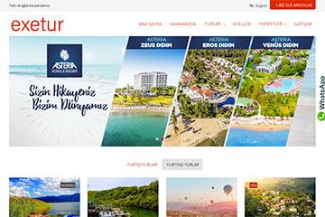 Exe Tur web tasarım