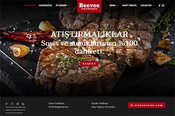 Beeves Web Sitesi Tasarımı
