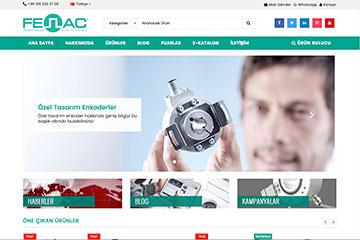 Fenac Web Sitesi Tasarımı