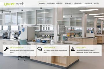 GreenArch Web Sitesi Tasarımı