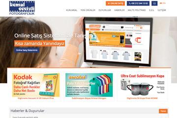 Kemal Cevizli Web Sitesi Tasarımı