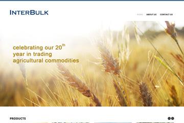 Interbulk Tarım Web Sitesi Tasarımı