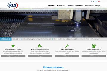KLS Klima Web Sitesi Tasarımı