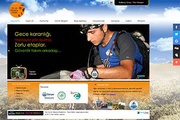 Macera Yarışı Web Sitesi Tasarımı