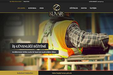Kuvars Web Sitesi Tasarımı