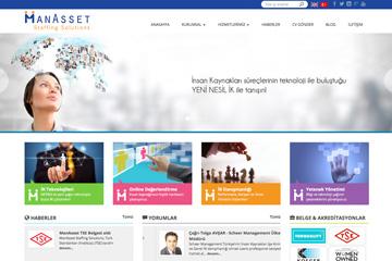 ManAsset Web Sitesi Tasarımı