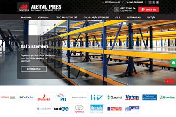 Metal Pres Web Sitesi Tasarımı