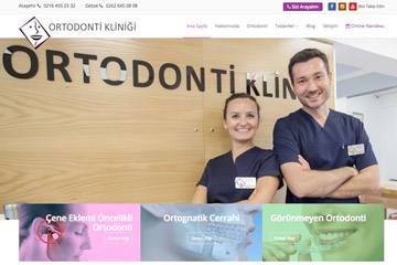 Ortodonti Kliniği yayında