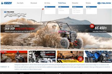 Ozzy ATV Web Sitesi Tasarımı